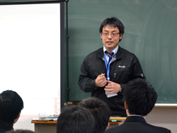 平工業高校にて講演を行いました